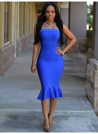 What Shoes Can I Wear With Blue Dresses 2020 - LadyFashioniser.c