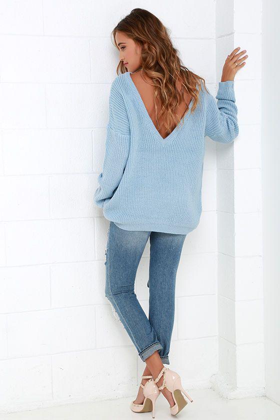 Island Ferry Light Blue Sweater | Light blue sweater, Blue sweater .