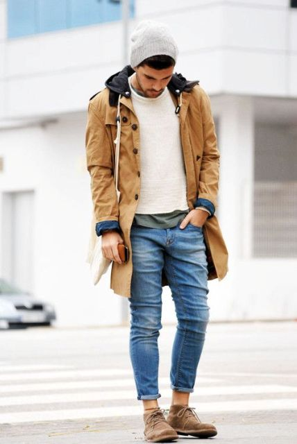 23 Chic Camel Coat Outfit Ideas For Men - Styleohol