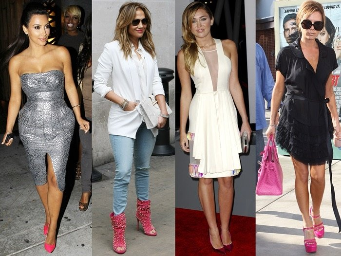 How to Wear Pink Shoes: 6 Chic Outfits With Pink Hee