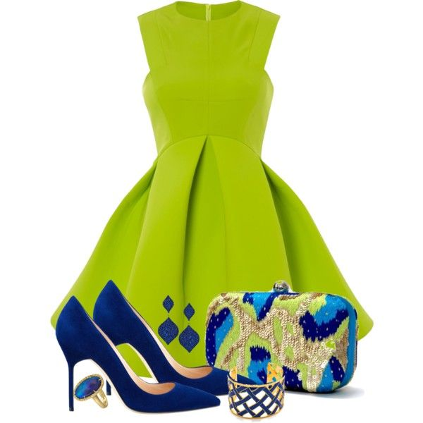 How to wear a lime green dress - howto-wear.c