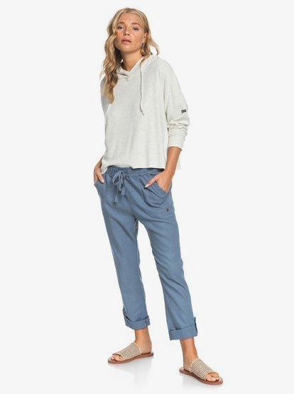Symphony Lover New Linen Pants ERJNP03226 | Ro