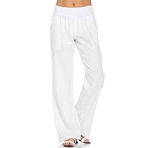 Women's Linen Pants: Amazon.c