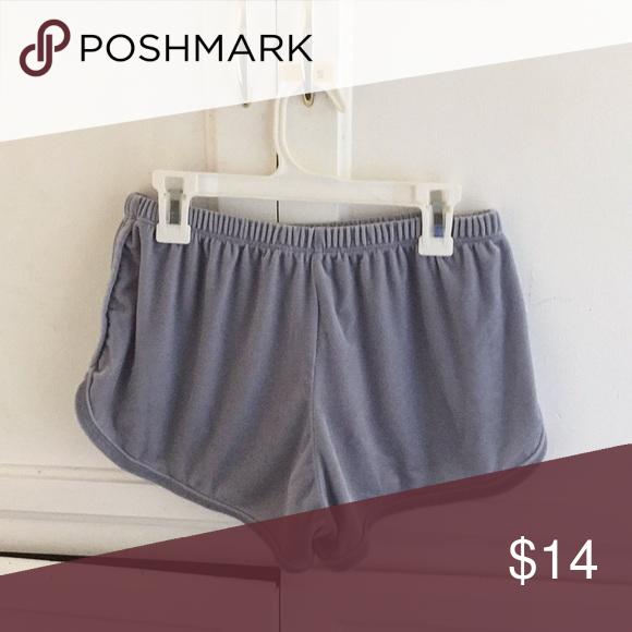 Brandy Melville Lisette Shorts super cute and comfy velvet shorts .