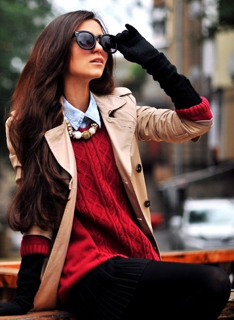 Gloves Styles for Women + Outfit Ideas 2020 | FashionTasty.c