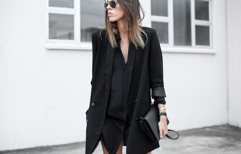 25 Trendy Women's Outfit Ideas With Long Blazers - Ohh My
