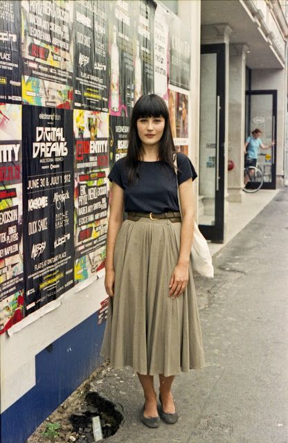 Toronto Street Fashion: Jelena | Fashion, Long skirt outfits .