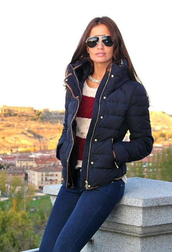 How will you put on stylish padded jacket 21 outfit ideas .