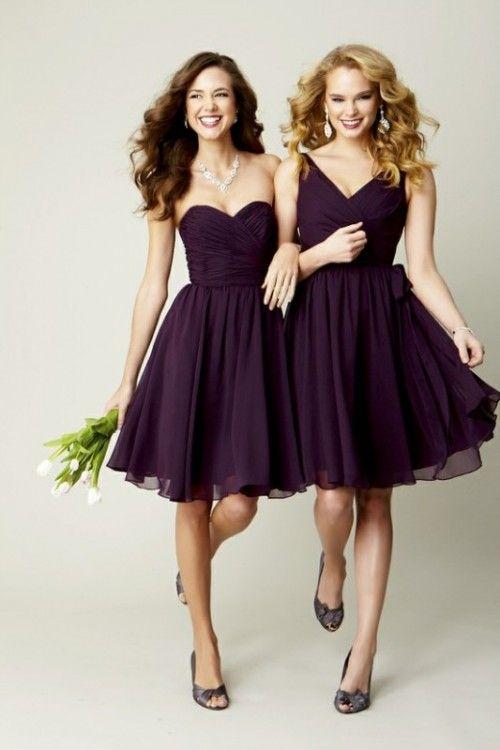 62 Glamorous Dark Purple Wedding Inspirational Ideas | Short .