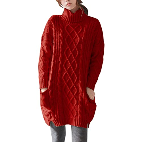 Red Sweater Dress: Amazon.c