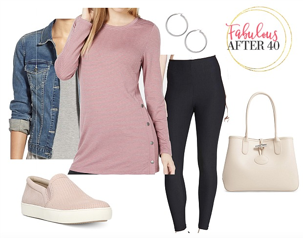 5 Transitional Tops to Wear With Leggings in Early Spri