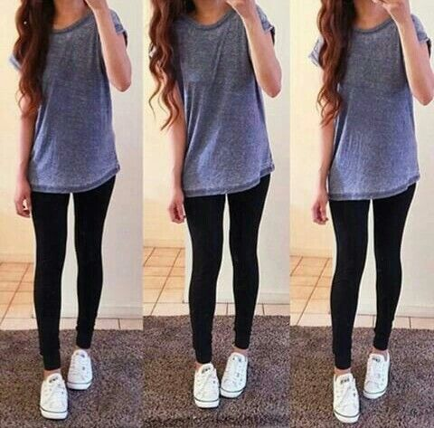 Converse.Store $29 on | Cute outfits with leggings, Leggings .