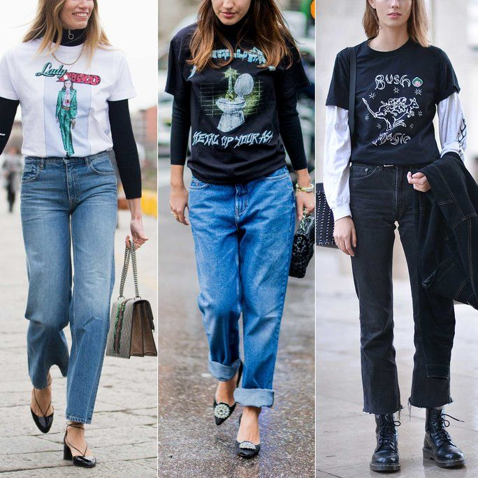 Street Style Stars Are Bringing Back Your Favorite Mid-Aughts T .