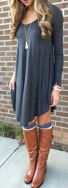30 Days of Outfit Ideas: How to Style a T-Shirt Dress - Nada .