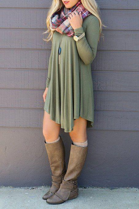 Women's Fall Fashion // POSESHE Women's Long Sleeve Casual Loose T .