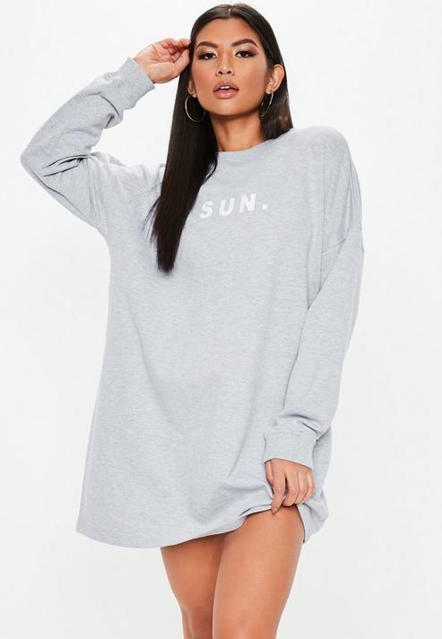 Street Style Long T-Shirt Dress Ideas | Oversized T Shirt As Dress .