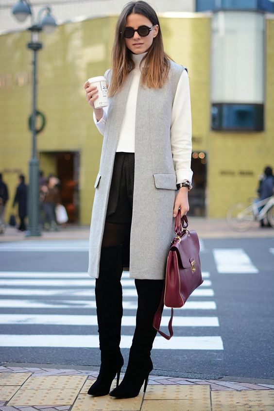 What to Wear with a Vest – 20 Best Vest Outfit Ideas for Women .