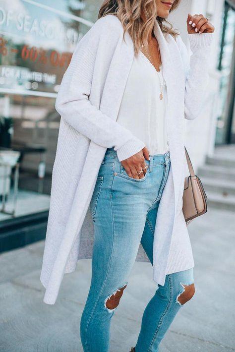 Women's style ideas. #casualwomensfashion | Fashion, White .