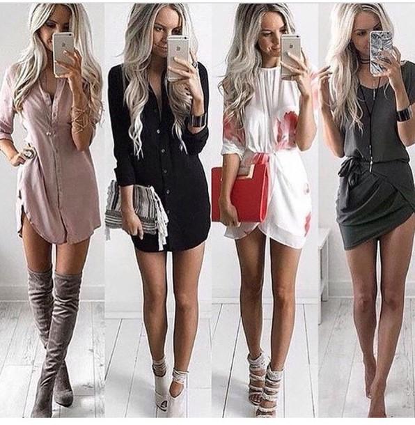dress, black dress, summer dress, cute dress, white dress, little .