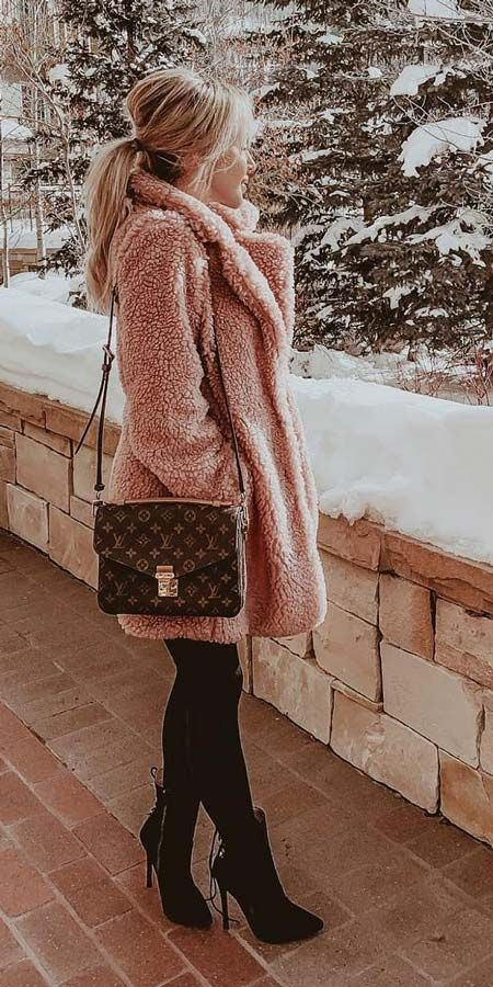 25 Chic Fur Coat Outfits Ideas To Look Extremely Adorable   Fur .