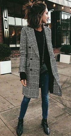 332 Best Plaid coat images in 2020 | Fashion, Autumn fashion .