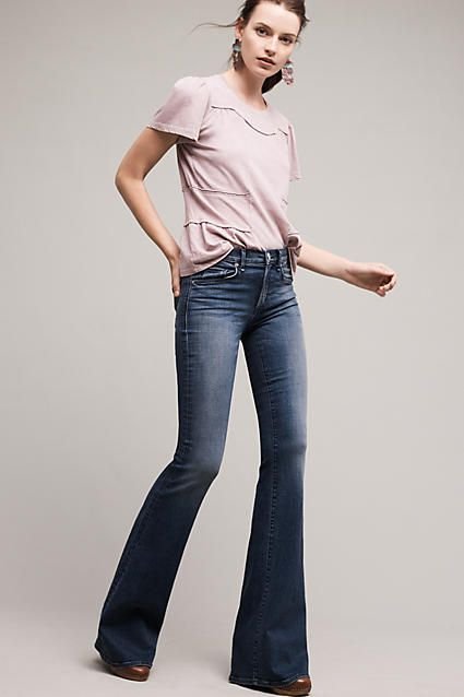 McGuire Majorelle Low-Rise Flare Jeans by McGuire | Clothes, Flare .