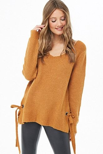 Vented Marled Knit Sweater | Sweaters, Fashion, Latest tren