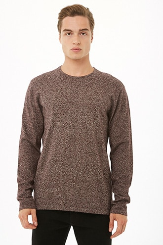 Marled Knit Sweater | Men sweater, Sweaters, Latest tren