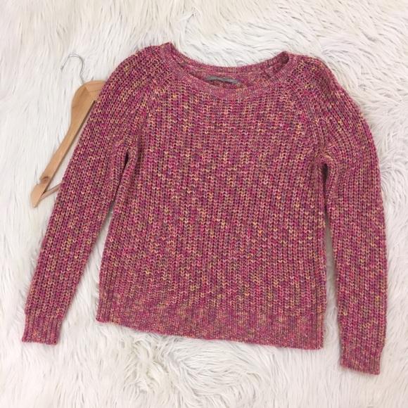Rubbish Sweaters | Nwot Pink Marled Knit Sweater | Poshma