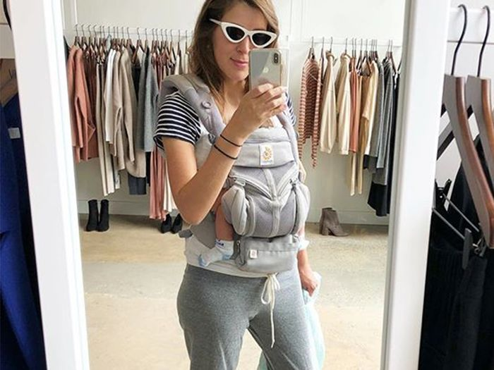 The Best Postpartum Clothes I Wore on Maternity Leave | Who What We