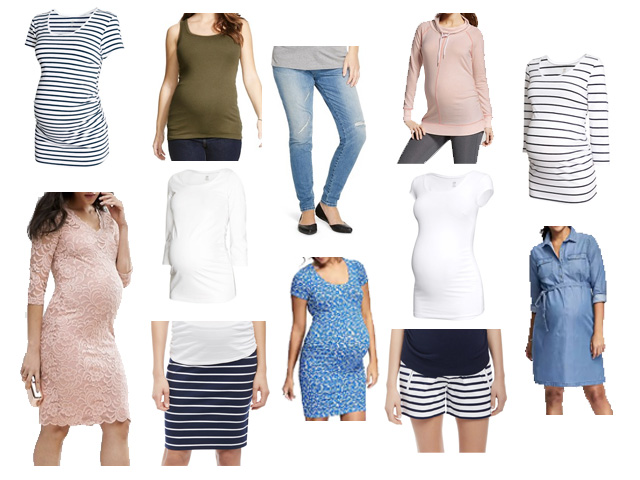 Recent Maternity Clothing Purchases | Stripes and Whim