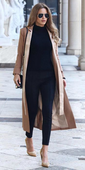 The Maxi Coat/Long Coat Trend That You Will Be Wearing In Autumn .