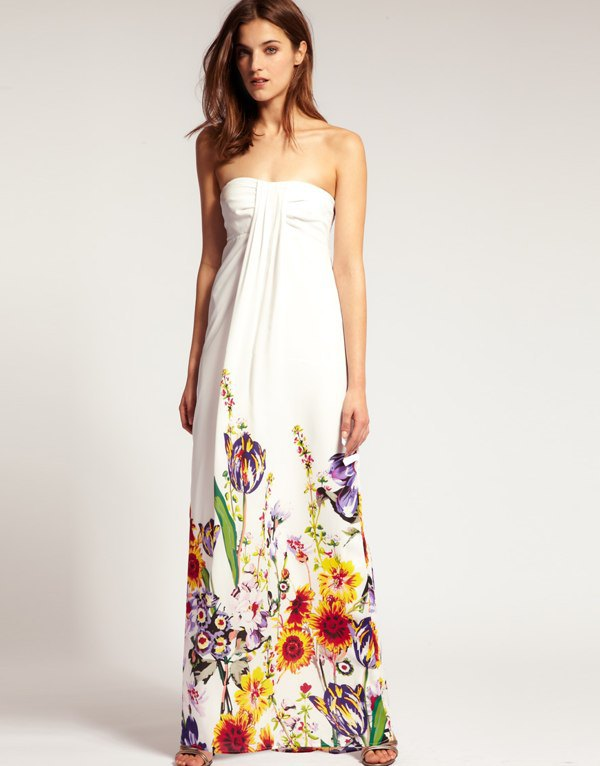 15 Refreshing and Breezy Maxi Cotton Dress Outfit Ideas - FMag.c