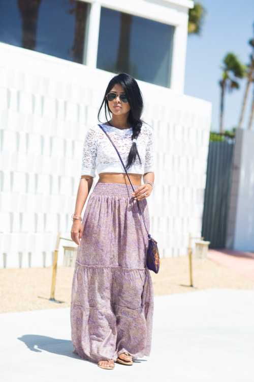 18 Casual and Stylish Maxi Skirt Outfit Ideas for Summ