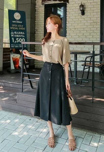 makmaks♥ New stylish KOREAN LONG SKIRT ♥ Women Fashion/Office .