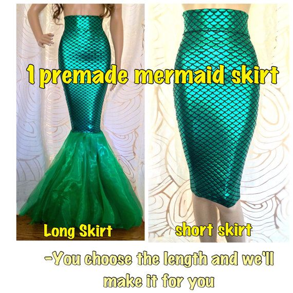 No Sew DIY Mermaid Costume Womens Adult by SPARKLEmeGORGEOUS .