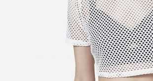 How to Style Mesh Crop Top: 15 Attractive Outfit Ideas for Women .