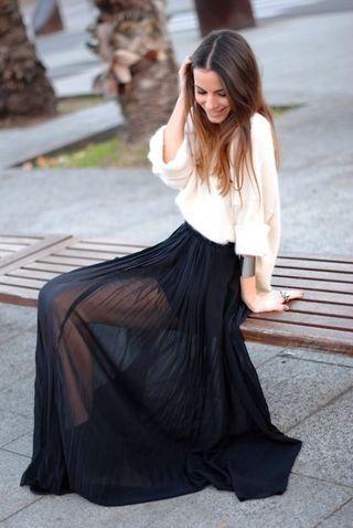 Cute see through skirt | Fashion, Style, Sheer ski