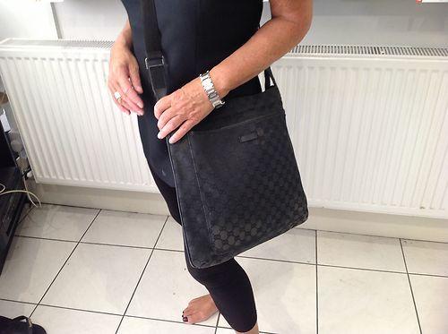 Gucci Messenger Bag | eBay | Gucci messenger bags, Gucci black .