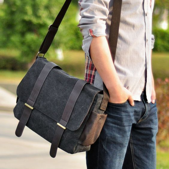 All About The Messenger Bags – Utility + Style! | Messenger bag .