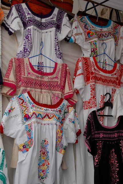 Embroidered Blouses Oaxaca in 2020 | Boho fashion, Mexican fashion .