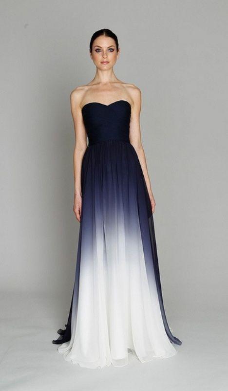 52 Stunning Midnight Blue Wedding Ideas | Schöne kleider, Kleidung .