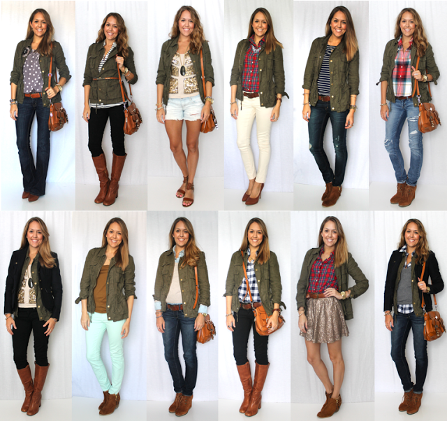 Today's Everyday Fashion: Military Jacket, 12 Ways | Things to .