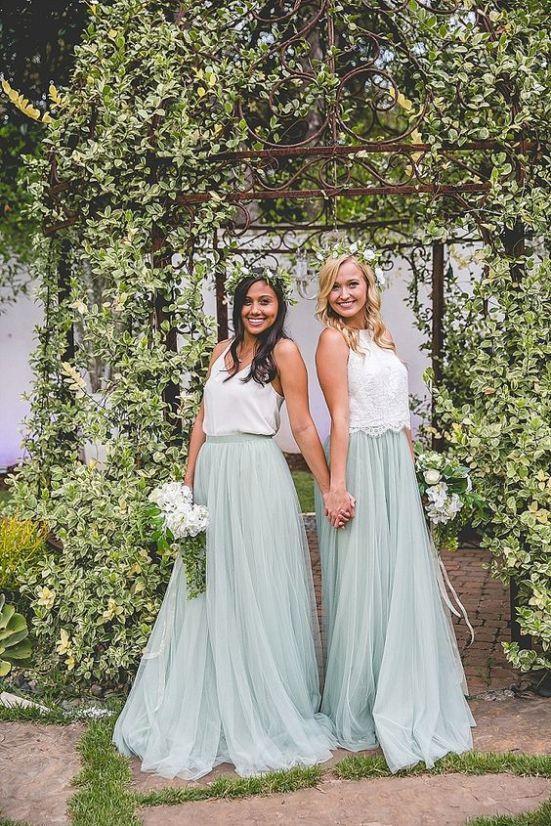 38 Chic And Trendy Bridesmaids' Separates Ideas | Bridesmaid .