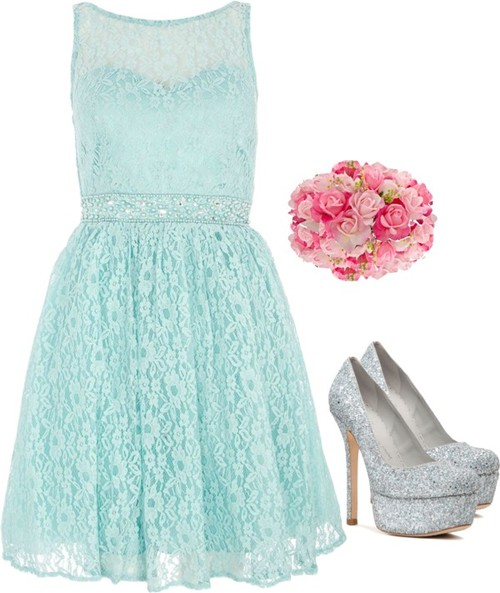 Cool Mint Bridesmaid Dresses-Inspiration-Ide