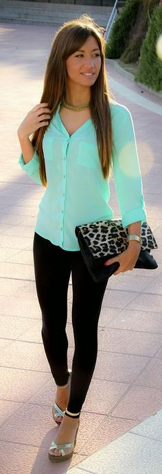 160 Best Mint Green Coordinates images | Style, Fashion, Cloth