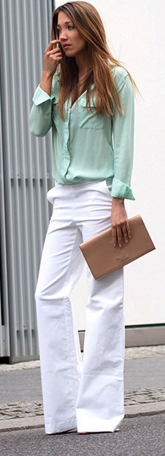 Colors that Go with Seafoam Green Clothes - Outfit Ideas | Fashion .