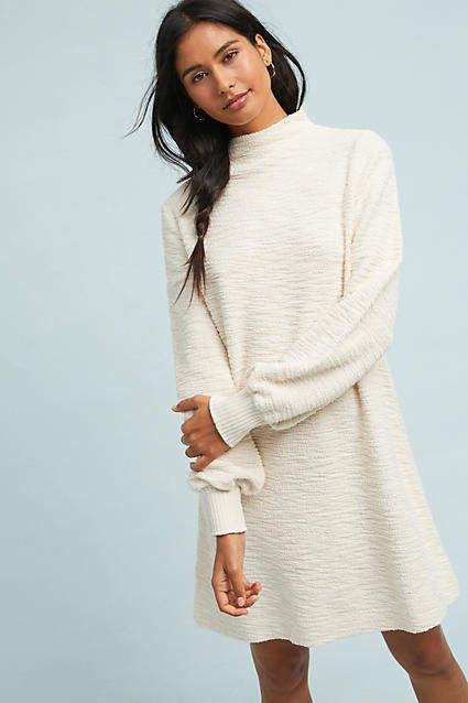 T.La Navier Mock Neck Dress #ad #AnthroFave #AnthroRegistry .