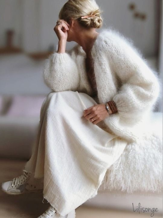 Angora Fluffy | Knit fashion, Fashion, Sty