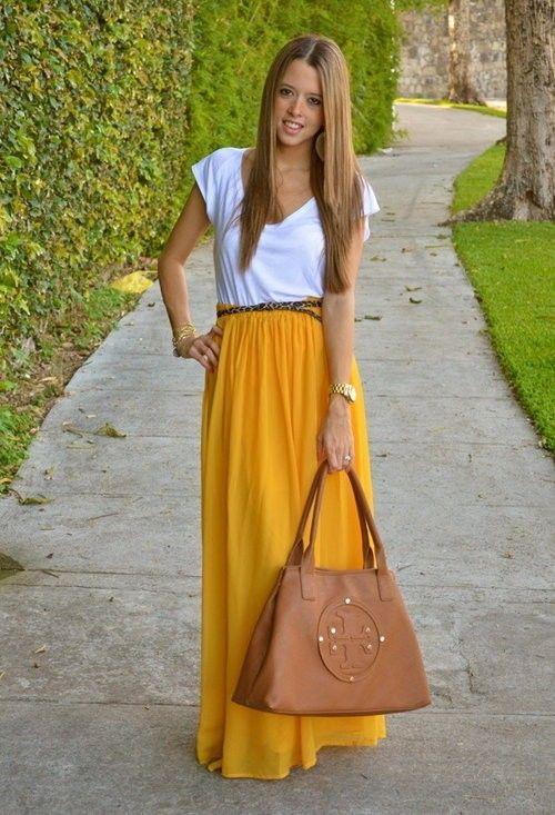 25 Striking Ways to Wear Yellow | Klær, Stiler, Trend